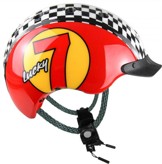 Casco Mini 2 Lucky 7 in Rot - Kinderfahrradhelm